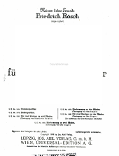 Tod und Verklarung: Tondichtung für grosses Orchester, op. 24