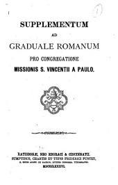 Supplementum ad Graduale Romanum pro Congregatione Missionis S. Vincentii a Paulo