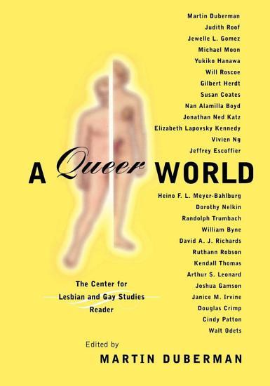Queer Representations PDF