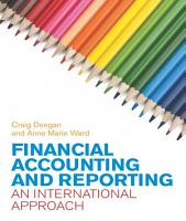 EBOOK  Financial Accounting and Reporting  An International Approach PDF