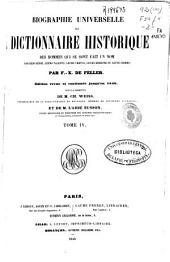Biographie universelle ou Dictionnaire historique des hommes qui se sont fait un nom: Volume4