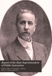 Report of the State Superintendent of Public Instruction