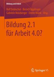 Bildung 2 1 f  r Arbeit 4 0  PDF