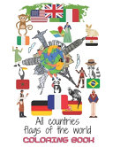 All Countries Flags of the World Coloring Book