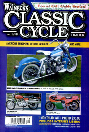 WALNECK S CLASSIC CYCLE TRADER  DECEMBER 2005 PDF