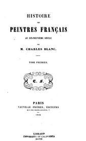 Histoire des peintres français au dix-neuvième siècle: Volume1