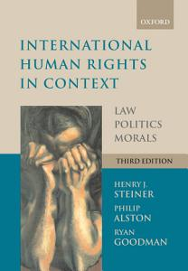 International Human Rights in Context PDF
