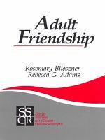 Adult Friendship