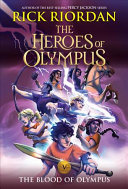 The Heroes of Olympus  Book Five The Blood of Olympus  new cover