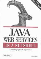 Java Web Services in a Nutshell PDF