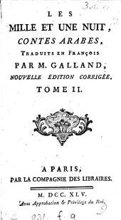 Les milles et une nuit, tr. par m. Galland: Volume2