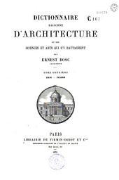 Dictionnaire raisonné d'architecture
