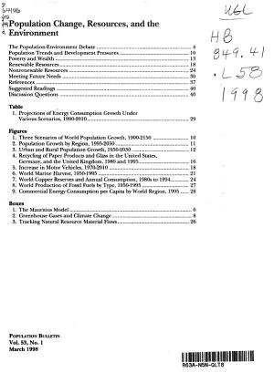 Population Bulletin PDF
