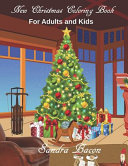 New Christmas Coloring Book For Adults and Kids