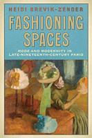 Fashioning Spaces PDF