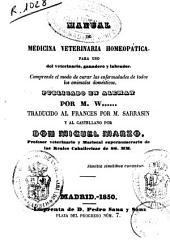 Manual de medicina veterinaria homeopática...