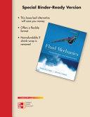 Loose Leaf for Fluid Mechanics Fundamentals and Applications PDF