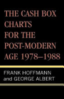 The Cash Box Charts for the Post modern Age 1978 1988 PDF