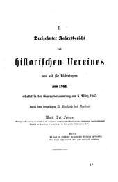 Verhandlungen des Historischen Vereins für Niederbayern: Band 11