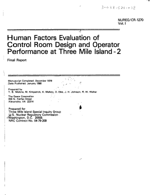 Human Factors Evaluation Of Control Room Design And Operator Performance At Three Mile Island 2