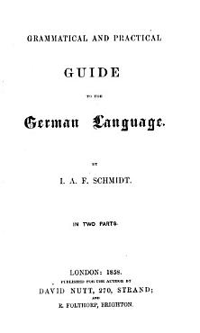 Grammatical and practical guide to the German language PDF