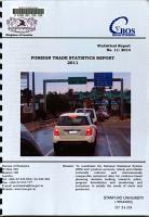 Foreign Trade Statistics PDF