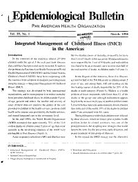 Epidemiological Bulletin PDF
