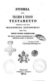Storia del Vecchio e Nuovo Testamento