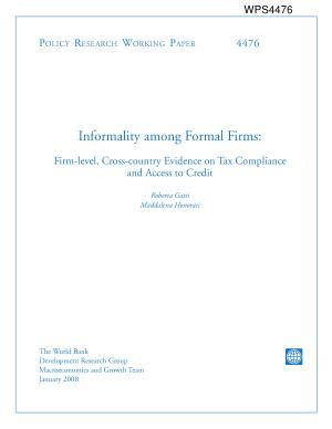 Informality Among Formal Firms PDF