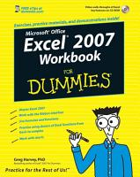 Excel 2007 Workbook For Dummies PDF