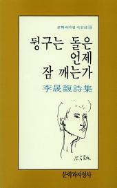 뒹구는 돌은 언제 잠 깨는가 - 문학과지성 시인선 013