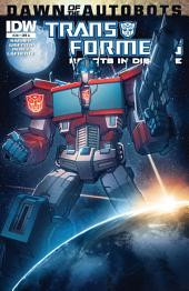 Transformers: Robots in Disguise #28 - Dawn of the Autobots