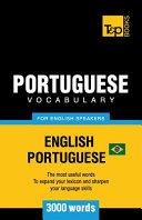 Portuguese Vocabulary for English Speakers   English Portuguese   3000 Words  Brazilian Portuguese PDF
