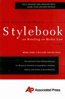 Download The Associated Press Stylebook 2009 Book