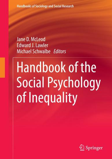 Handbook of the Social Psychology of Inequality PDF