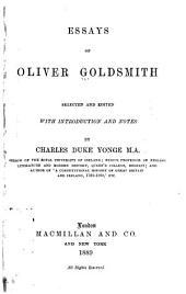 Essays of Oliver Goldsmith