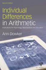 Individual Differences in Arithmetic PDF