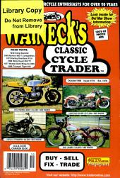 WALNECK'S CLASSIC CYCLE TRADER, OCTOBER 1998