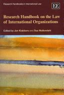 Research Handbook on the Law of International Organizations PDF