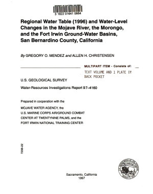 Water resources Investigations PDF