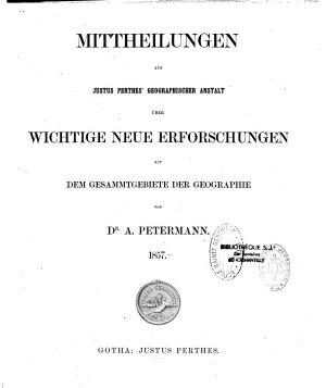 Petermanns Mitteilungen  Globus PDF
