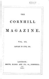 The Cornhill Magazine: Volume 3; Volume 11