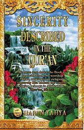 Sincerity Described In The Qur'an