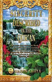 Sincerity Described In The Qur'an