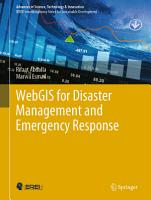 WebGIS for Disaster Management and Emergency Response PDF