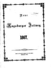 Neue Augsburger Zeitung: 1867,1/6