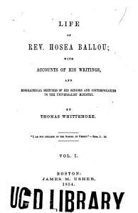 Life of Rev  Hosea Ballou PDF
