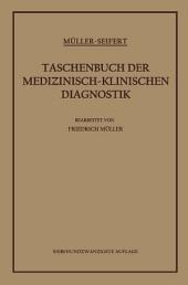 Taschenbuch der Medizinisch-Klinischen Diagnostik: Ausgabe 27