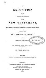 An Exposition Of The Historical Writings Of The New Testament Book PDF