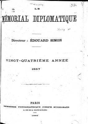 Le M  morial diplomatique PDF
